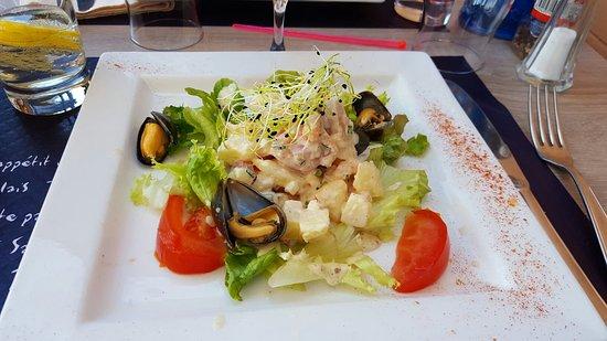 Le Mesnil-en-Vallee, Francja: Tartare de la mer