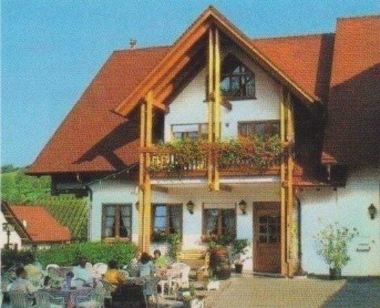 Ein gemütliches Gasthaus, die Winzerstube im Herztal/Oberkirch.