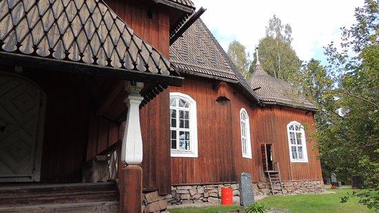 Keuruu, Finland: A back door