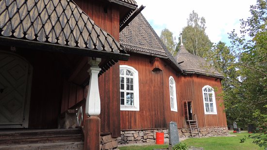 Keuruu, Finnland: A back door