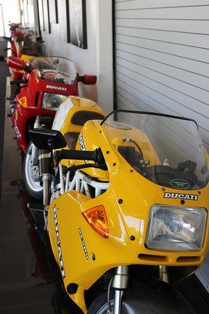 Marconi Automotive  Museum: Bikes