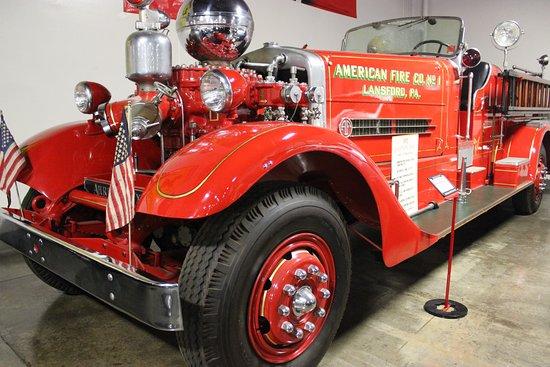Marconi Automotive  Museum: Vintage Firetruck