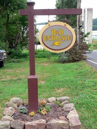 Reinholds, Pensylwania: Welcome Sign