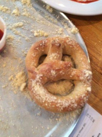 The Mellow Mushroom - Pizza and pretzels