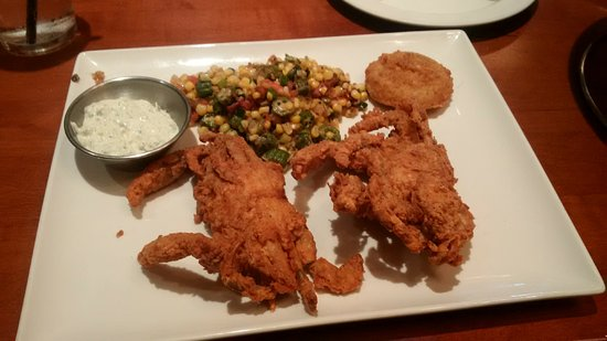 Kings Fish House: Southern Fried Blue Crab