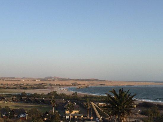 Beach Hotel Swakopmund: Views from our room.