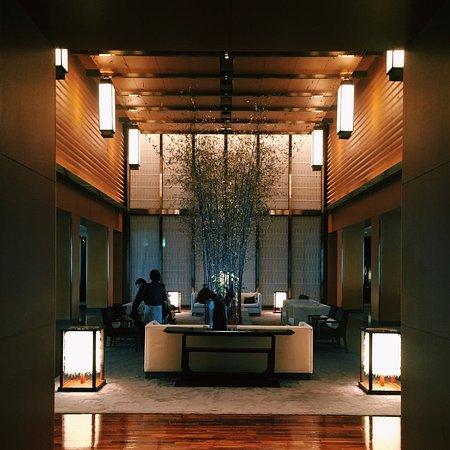 Mandarin Oriental, Tokyo: Hotel lobby