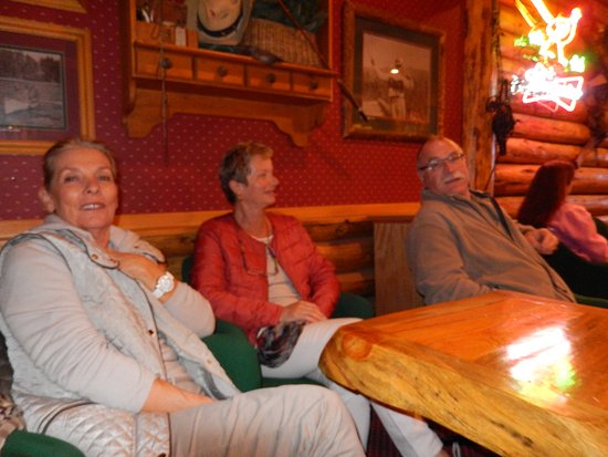 Three Bear Lodge: Nous allons prendre notre diner