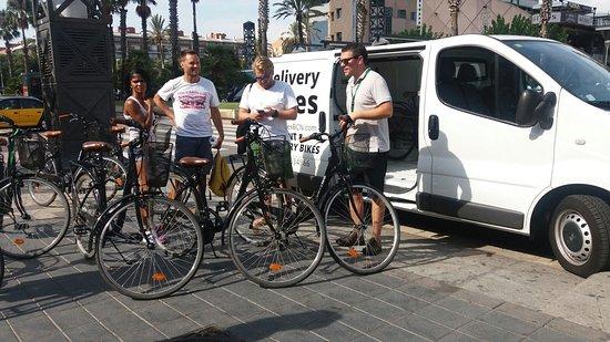 Delivery Bikes BCN