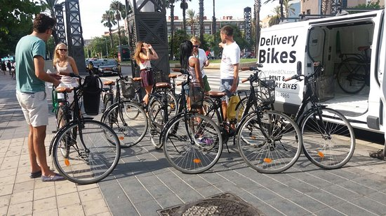 Delivery Bikes BCN