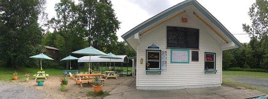 Tom Tom's Cafe on Lake Sagandaga in Broadalbin, NY