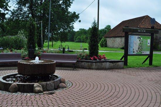 Nica, Latvia: Около центра