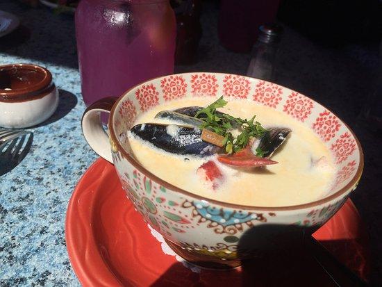 Rhubarb Restaurant: seafood chowder