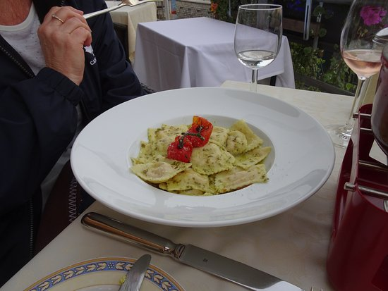 Hotel Eiger Restaurant : The pasta