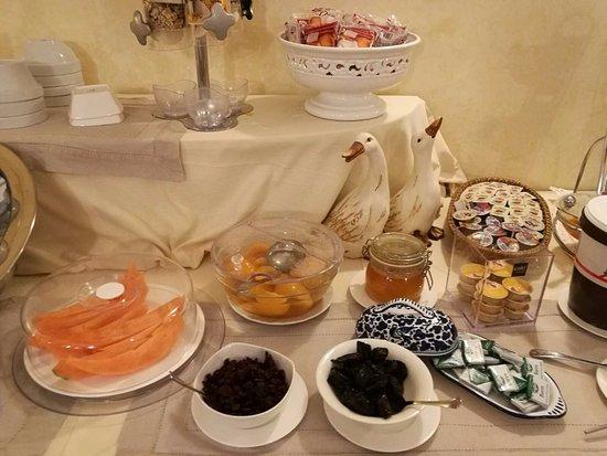 Hotel Gattapone: Colazione.