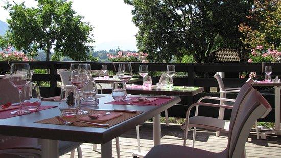 Restaurant auberge d 39 argonay dans argonay avec cuisine for La fourchette annecy