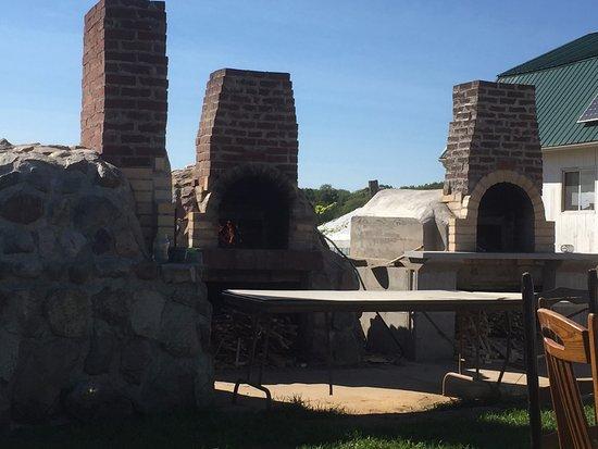 Athens, WI: Pizza Ovens at Stoney Acres Farm