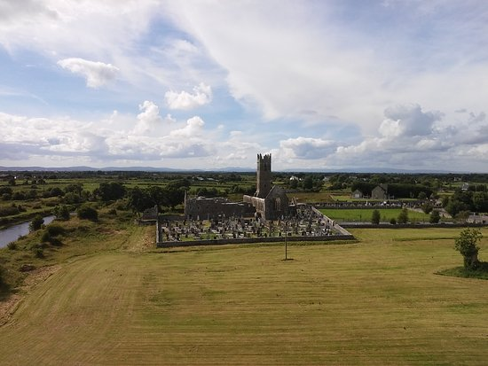 Claregalway, أيرلندا: View from Claregalway Castle