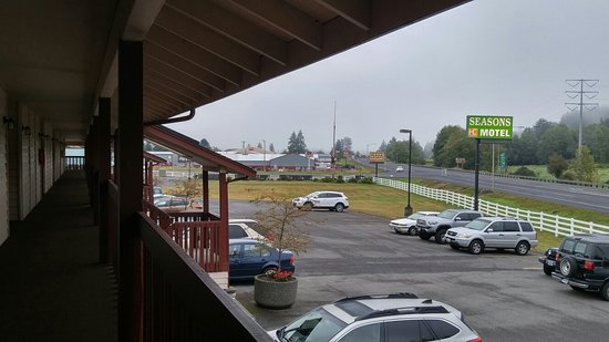 Seasons Motel: From 2nd floor