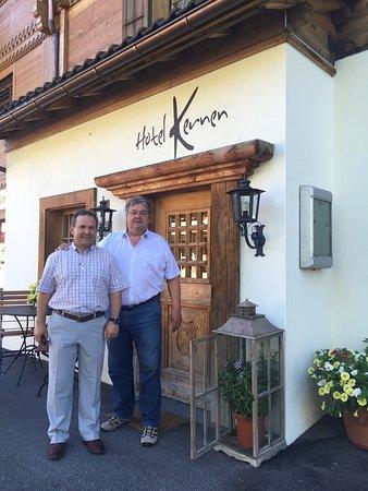 Schonried, Suiza: Bruno kümmert sich wirklich engagiert und sehr freundlich um seine Gäste