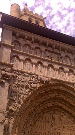 Iglesia de Santa María la Real de Sangüesa.