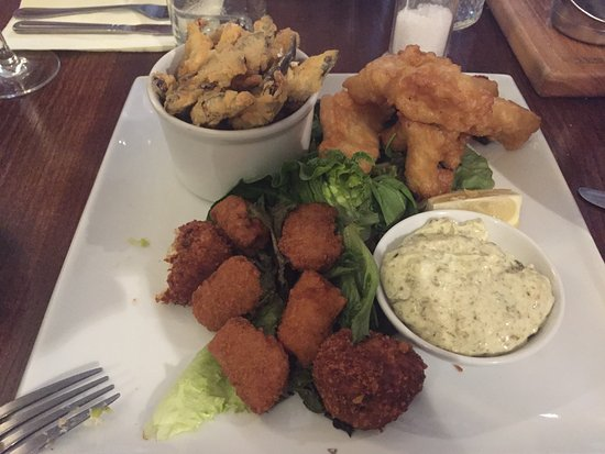 The Jolly Thresher: Trawlerman's platter