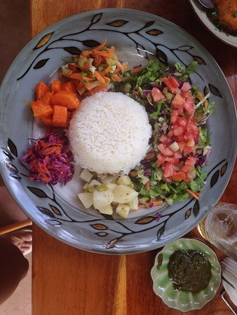 San Juanillo, Costa Rica: Excelent food, organic products, you'll find vegan dishes as well as fish and meats. Strongly re