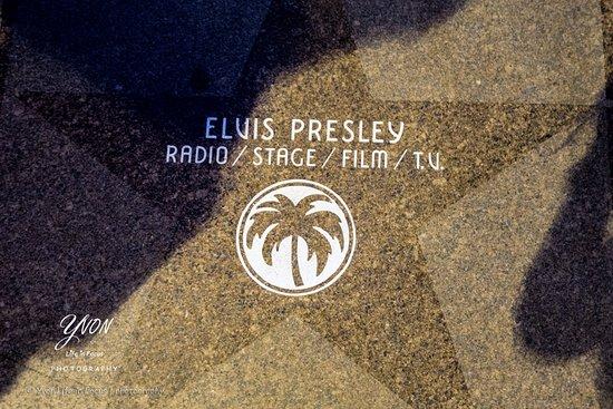 BEST WESTERN PLUS Las Brisas Hotel: walk of fame Palm Springs