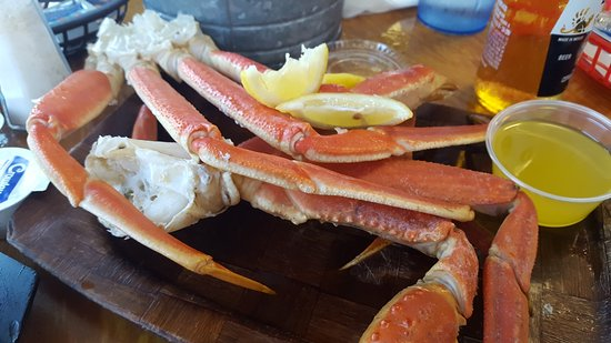 Salter Path, Carolina do Norte: Crab legs