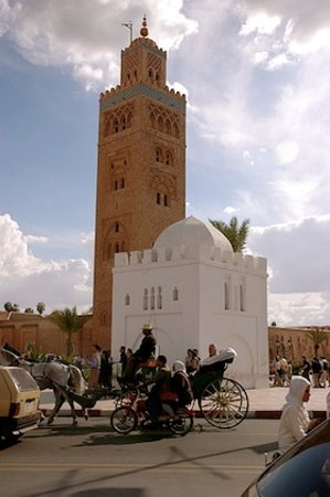 Travel Exploration Morocco Private Tours: Mosque of Koutoubia & Tomb of Lala Zora, Marrakech