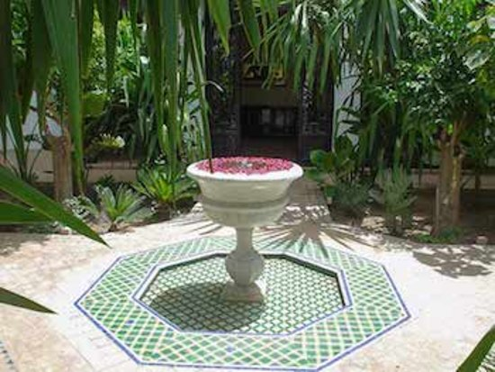 Travel Exploration Morocco Private Tours: Riad Courtyard, Marrakech