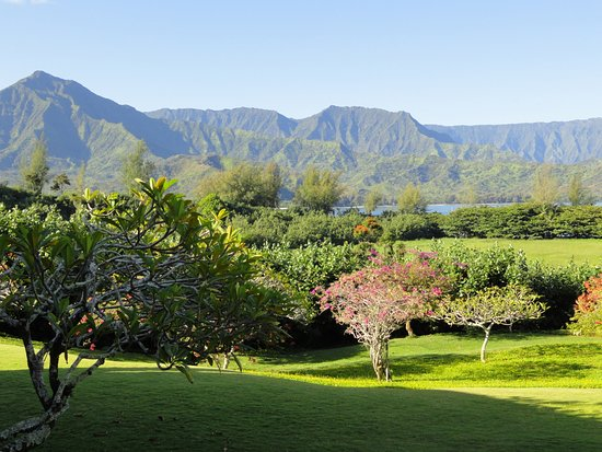Hanalei Bay Resort: view from our room