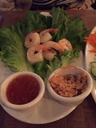 เซอร์เรย์, แคนาดา: Thai Lettuce wraps with Prawns addition