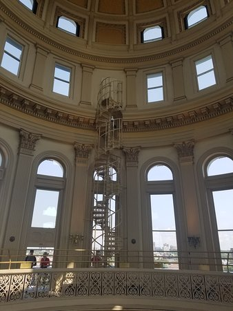 Good Colorado State Capitol: The Old Spiral Staircase That Used To Take You To  The Top