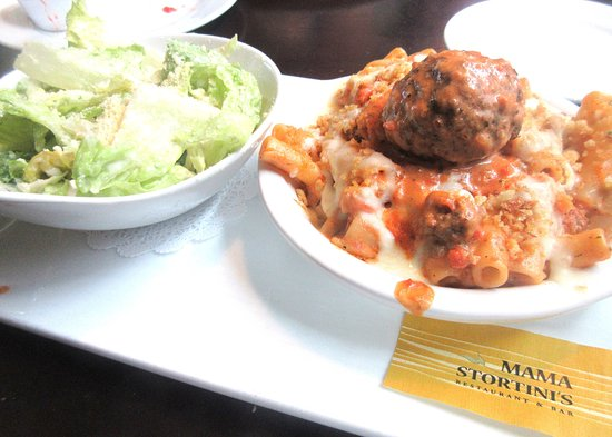 Mama Stortini's Restaurant & Bar: Salad and Pasta, Mama Stortini's, Kent Station, Kent, WA