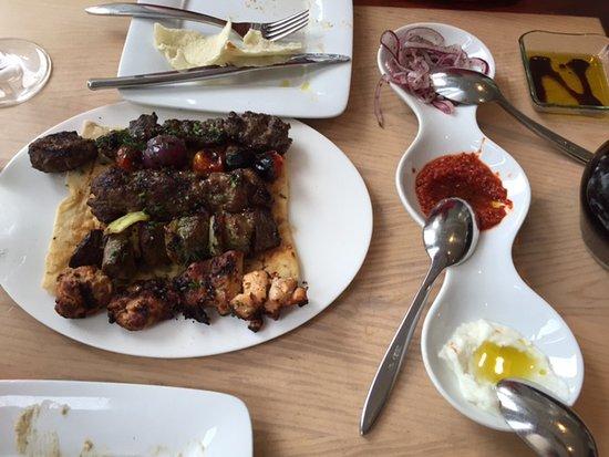 Zaytinya: Kebab Sampler