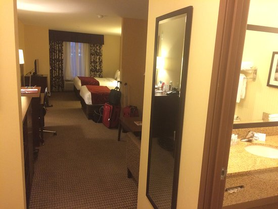 Comfort Suites Hotel & Convention Center Rapid City: Very Spacious one bedroom suite.