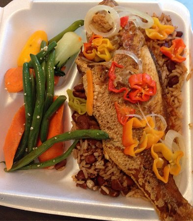 Red Snapper Cafe: Tasted as good as it looked and smelled