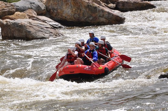 Swanton, MD: Whitewater raft at the nearby man-made course!