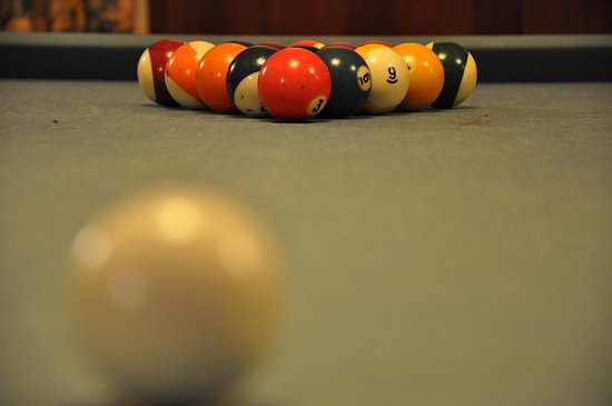 Swanton, MD: Play a game of pool in the common room