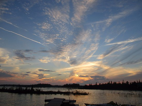 Bear Cove Bed and Breakfast: Another sunset over Lake Huron