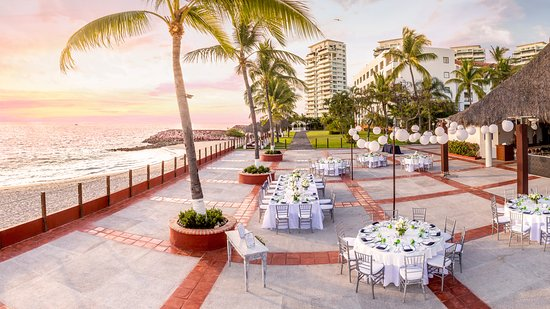 Melia Puerto Vallarta All Inclusive Wedding Banquet Banquete Boda