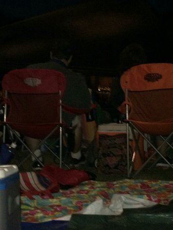 Blossom Music Center: Because of the inconcederiart high back chairs the last night of blossom is ruined!