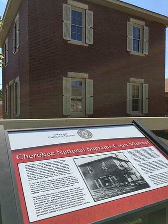 Tahlequah, Οκλαχόμα: Cherokee history!!