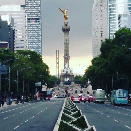 Foto De Paseo De La Reforma Ciudad De M Xico Angel De La