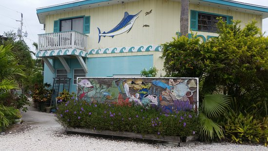 Conch Key, FL: Tropical feel all around grounds