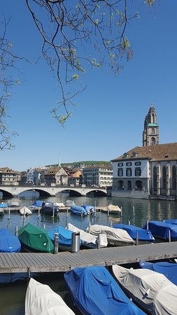 Hotel Alexander: Close to wonderful Zurich city views