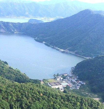 Wakasa-cho, Giappone: 水月花遠景 梅丈山から