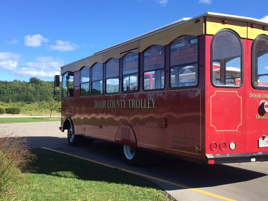 Egg Harbor, WI: Our Trolley!