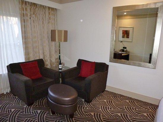 Hyatt Hotel Canberra: Seating area